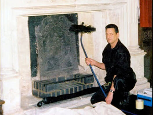 Martin North, Chimney Sweep, Oxfordshire